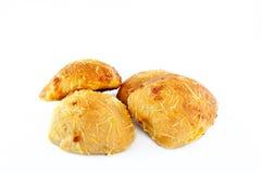 Pane con cheeze grattato Immagini Stock Libere da Diritti