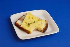 Pane con formaggio Fotografia Stock
