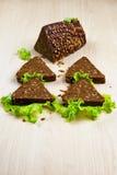 Pane con i semi di girasole Fotografia Stock Libera da Diritti