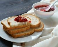 Pane con inceppamento fotografia stock libera da diritti