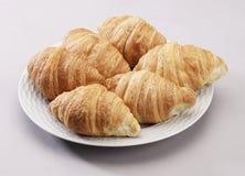 Pane dei Croissants Fotografie Stock Libere da Diritti
