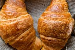 Pane del croissant fotografia stock libera da diritti