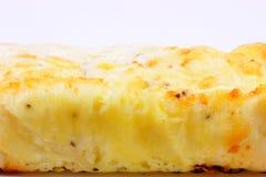 Pane 2 del formaggio e della cipolla Fotografia Stock Libera da Diritti