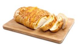 Pane del formaggio intero Fotografie Stock Libere da Diritti