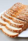 Pane del frumento con l'avena Fotografie Stock Libere da Diritti
