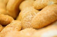 Pane del frumento con sesamo Immagini Stock