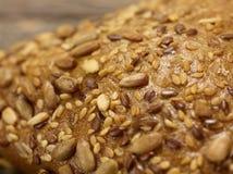 Pane del grano - primo piano Fotografie Stock Libere da Diritti