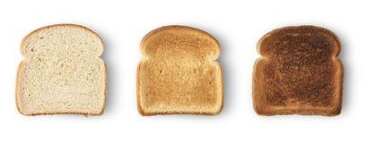 Pane del pane tostato delle fette Fotografia Stock Libera da Diritti