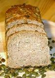 Pane del seme di zucca Fotografia Stock