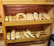 Pane del villaggio, La Mancha, Spagna della Castiglia Immagini Stock