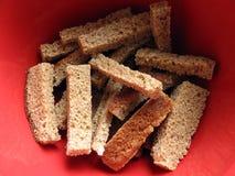 Pane della crosta Fotografia Stock