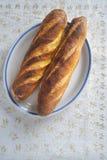 Pane della curcuma su un piatto Immagini Stock
