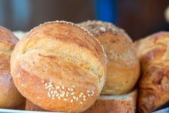 Pane della pagnotta come fondo Fotografia Stock