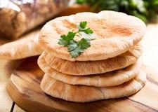 Pane della pita Immagini Stock Libere da Diritti
