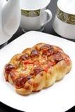 Pane della pizza di formaggio Fotografie Stock