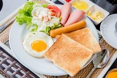 Pane della prima colazione Immagini Stock