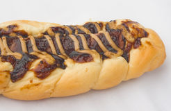 Pane della salsa di pepe nero e della salsiccia Fotografia Stock