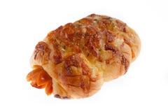 Pane della salsiccia Fotografia Stock
