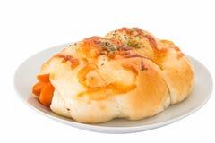 Pane della salsiccia fotografia stock libera da diritti