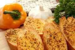 Pane di aglio Fotografie Stock Libere da Diritti