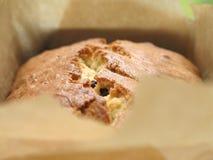 Pane di banana con di pepita di cioccolato Fotografie Stock
