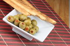 Pane di Grissini Fotografia Stock