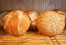 Pane di lievito e del cereale Fotografia Stock