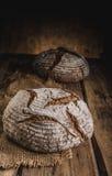 Pane di lievito naturale casalingo Fotografia Stock