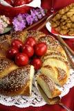 Pane di Pasqua Immagini Stock