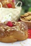 Pane di Pasqua fotografia stock