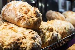 Pane di recente al forno e prodotti della panificazione Fotografie Stock