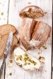 Pane di Rye fotografie stock libere da diritti