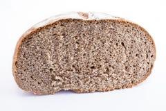 Pane di Rye su bianco Immagine Stock Libera da Diritti