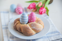 Pane dolce di Pasqua del tedesco Immagini Stock
