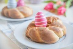 Pane dolce di Pasqua del tedesco Immagine Stock Libera da Diritti