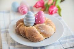Pane dolce di Pasqua del tedesco Fotografia Stock