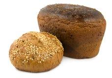 Pane dolce e pane marrone Fotografie Stock Libere da Diritti