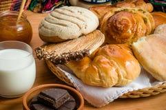 Pane dolce messicano fotografia stock