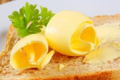 Pane e burro immagini stock libere da diritti
