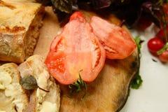 Pane e burro di dieta di Vegeterian Fotografia Stock Libera da Diritti