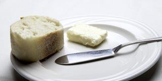 Pane e burro Immagine Stock Libera da Diritti