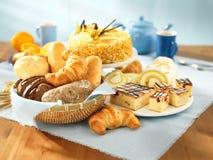 Pane e dessert Immagine Stock Libera da Diritti