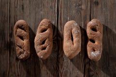 Pane e farina Immagini Stock Libere da Diritti