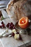 Pane e formaggio Fotografie Stock Libere da Diritti