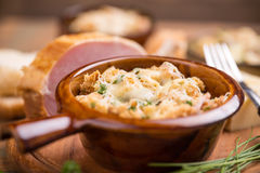 Pane e formaggio fotografia stock