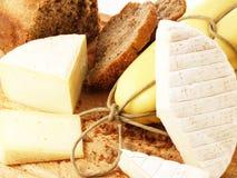 Pane e formaggio Fotografie Stock