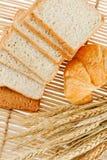 Pane e frumento fotografia stock