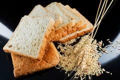 Pane e frumento fotografia stock libera da diritti