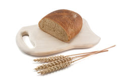 Pane e frumento Immagine Stock Libera da Diritti