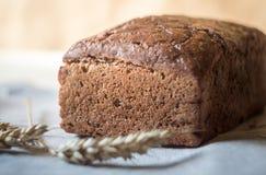 Pane e grano rustici saporiti dell'artigiano del lievito naturale Immagine Stock